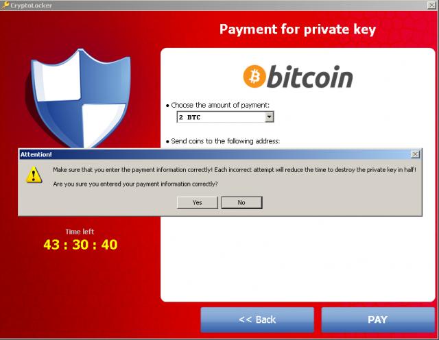 De dreiging van het jaar: Cryptolocker snapshot