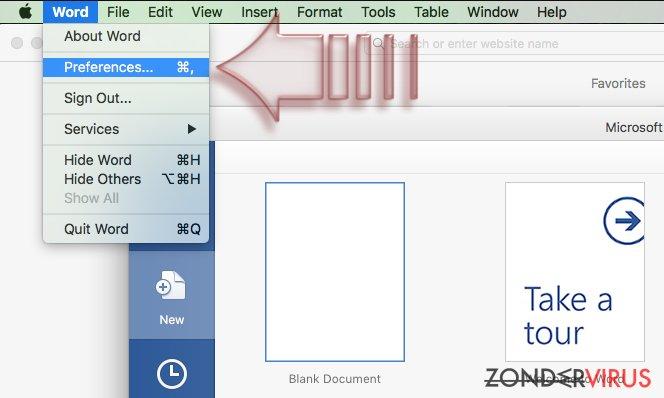 Hoe schakel je macros uit op Windows en Mac OS X? snapshot