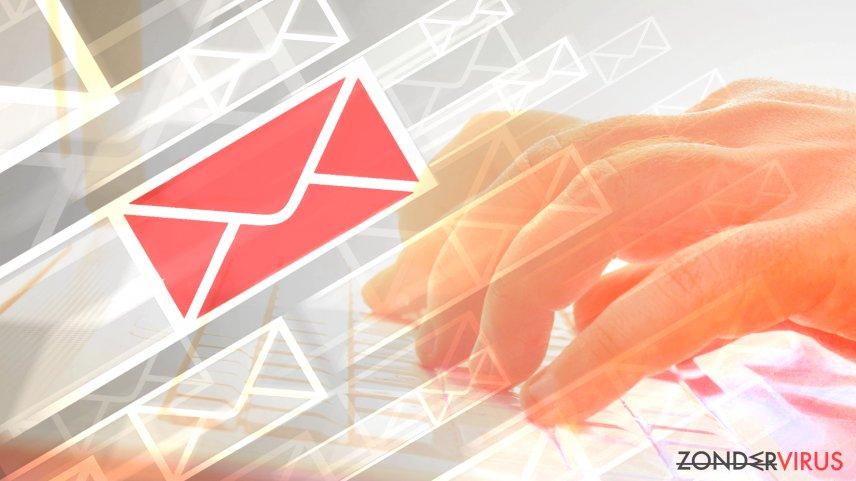 Hoe kunt u een e-mail identificeren die is besmet met een virus?