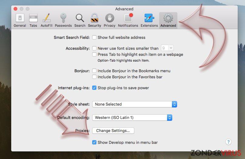 Hoe Safari resetten? snapshot