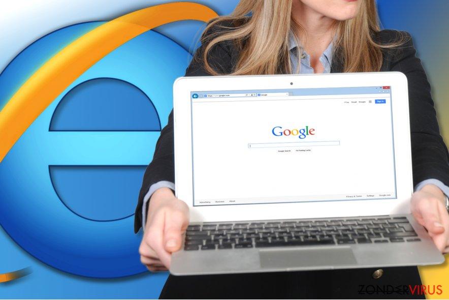 Hou kunt u Internet Explorer resetten? snapshot