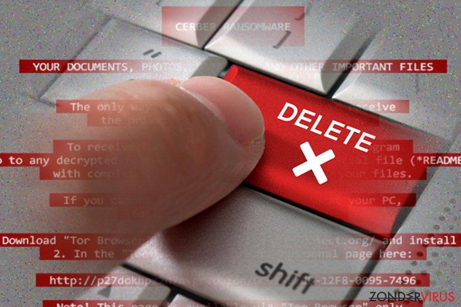 Hoe u gijzelsoftware kunt verwijderen