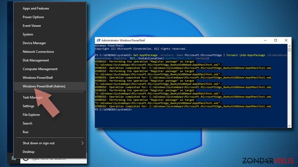 MS Edge/Chromium Edge resetten