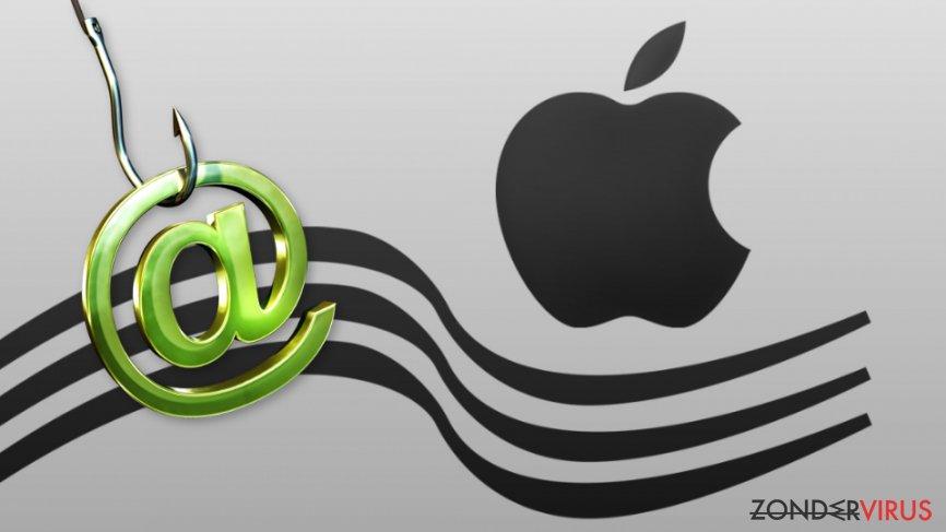 De Apple-zwendel keerden terug in januari