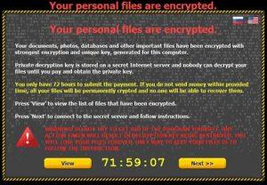 Opgepast!!! Ransomware dreigingen zijn net aan hun tweede leven begonnen!