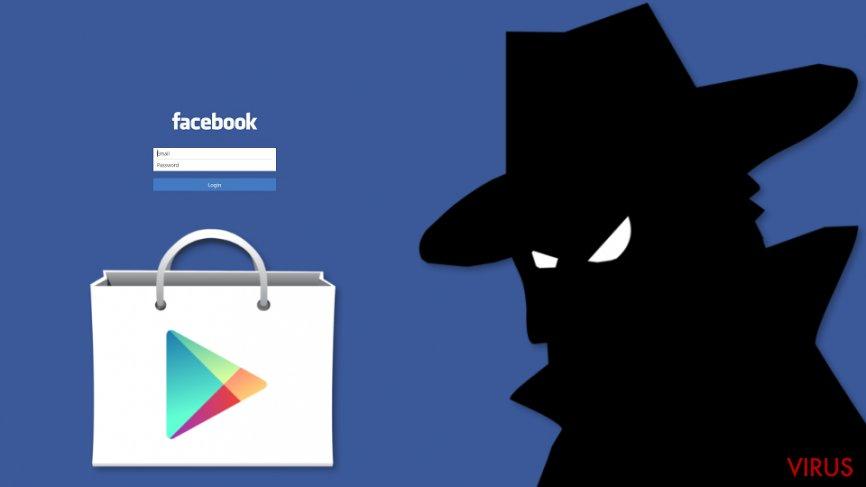 Facebook data-stelende malware ontdekt op Google Play Store