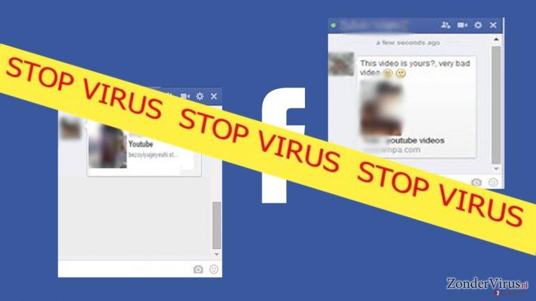 Facebook video virus impersonates its victims