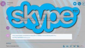 Kwaadaardige links duiden op een andere uitbraak van het Skype virus