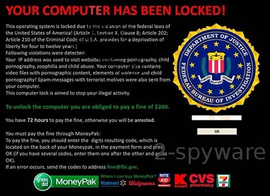 Meet FBI Online Agent – an improved version of FBI virus