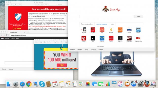 Cyber dreigingen waarvoor je zou moeten opletten dit jaar: adware, browser hijackers en ransomware virussen snapshot