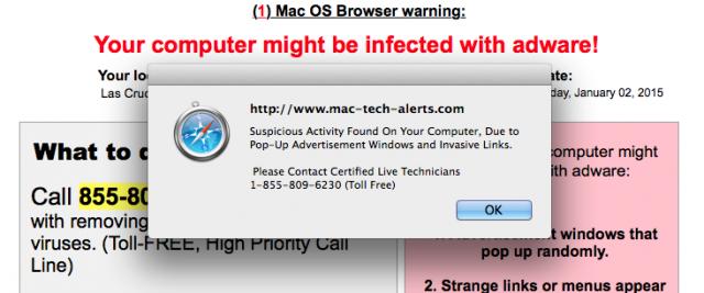 Adware in Apple Mac OS X? Ja, het is mogelijk! snapshot