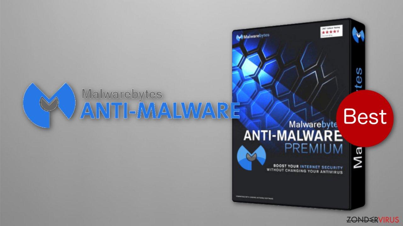 The image of Malwarebytes anti-ransomware beta version
