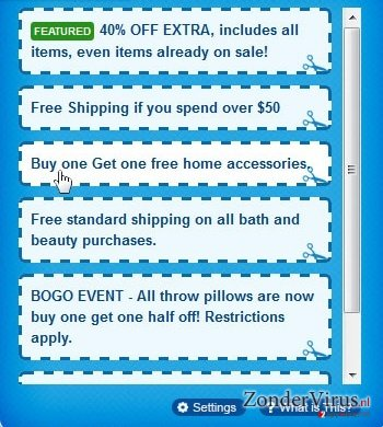 Advertenties door Coupons and fun snapshot