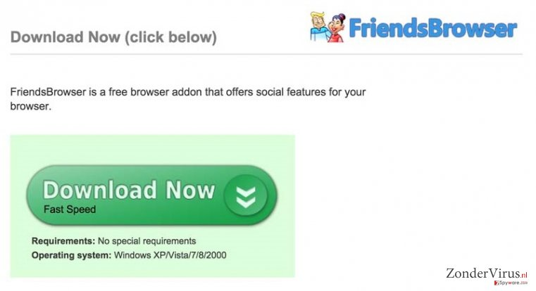 Advertenties door FriendsBrowser snapshot