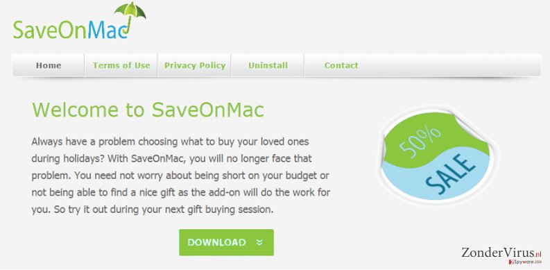 Advertenties door SaveOnMac snapshot
