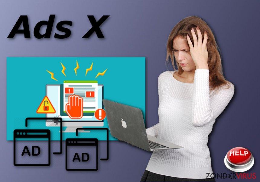 De Ads X adware