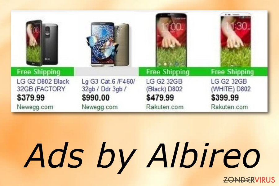 Albireo advertenties