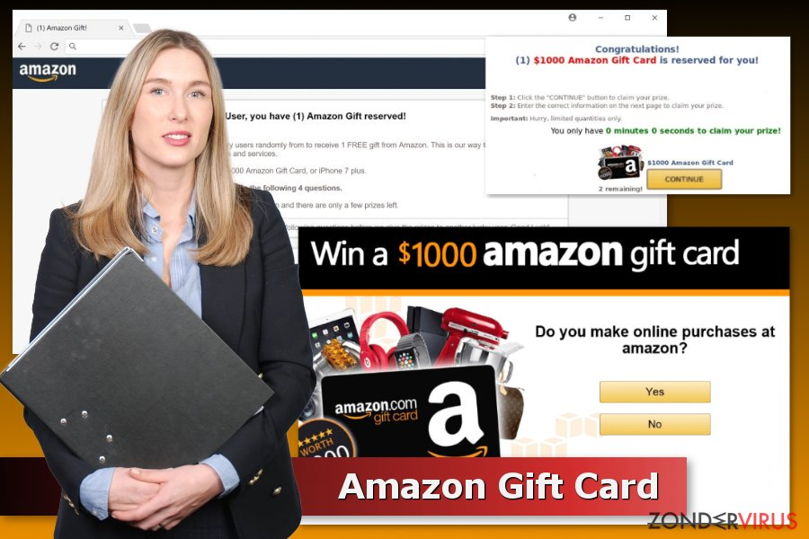 Amazon Gift Card scams voorbeelden