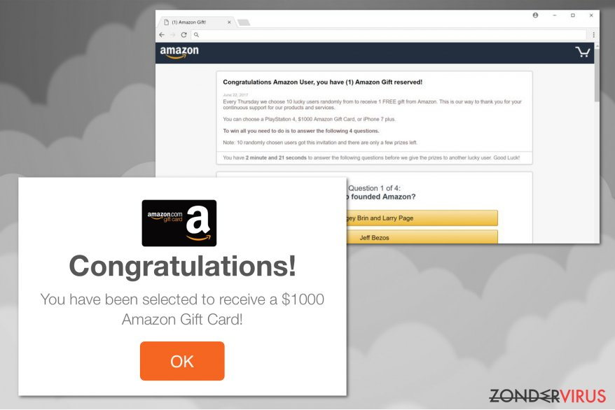 Amazon virus snapshot
