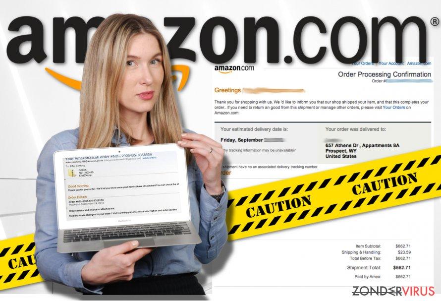 Amazon virus snapshot