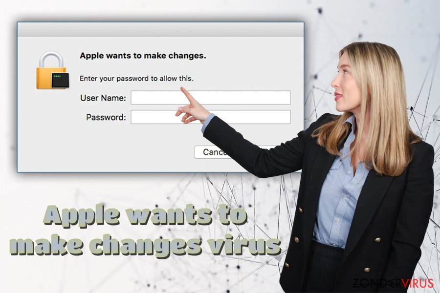 De Apple wants to make changes adware