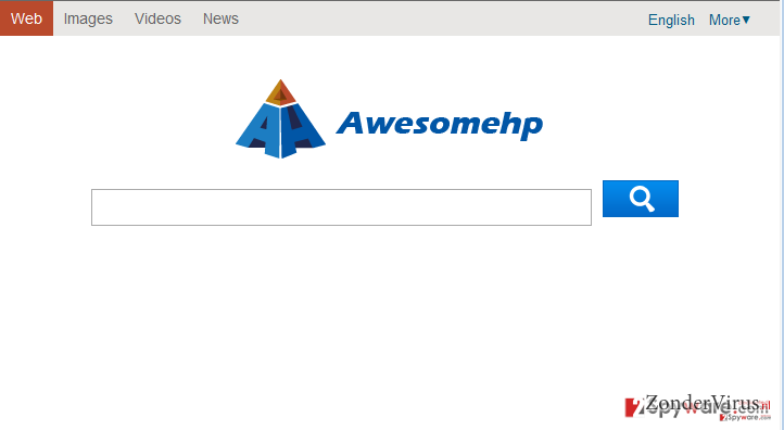 Awesomehp.com snapshot