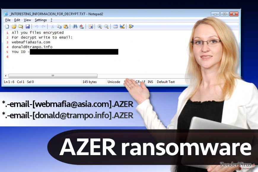 Azer-malware (Cryptomix-versie)