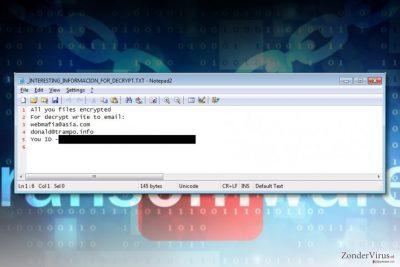 Azer gijzelsoftware-virus