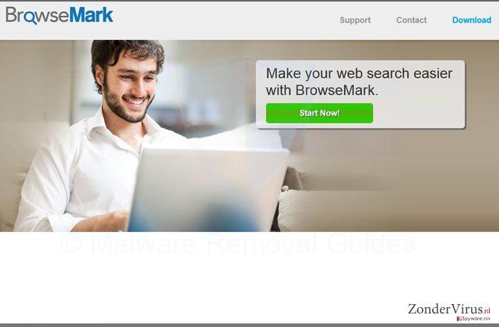 BrowseMark virus snapshot