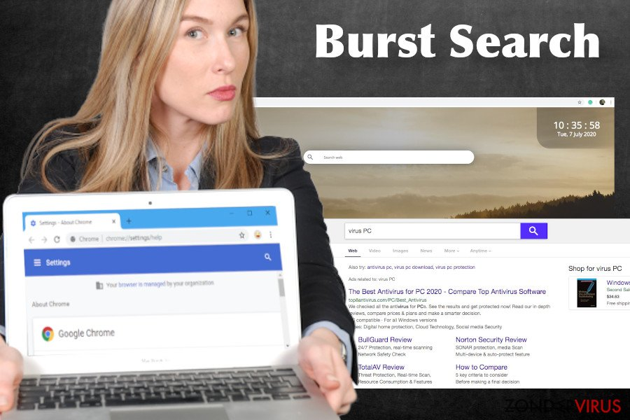 Burst Search-virus