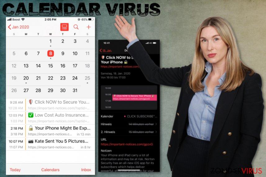 het iPhone-Calendar-virus