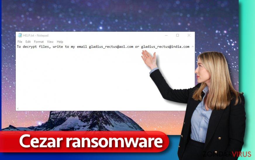 Cezar-gijzelsoftware-virus