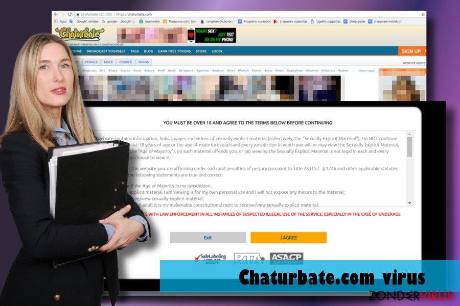 Het Chaturbate.com-virus
