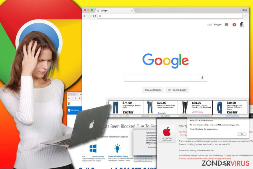 Het Chrome adware virus