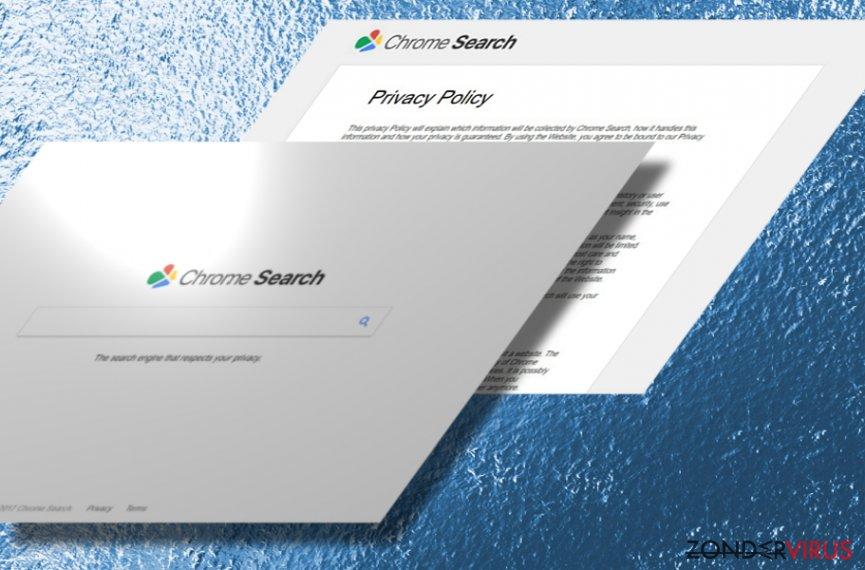 Het Chromesearch.today virus