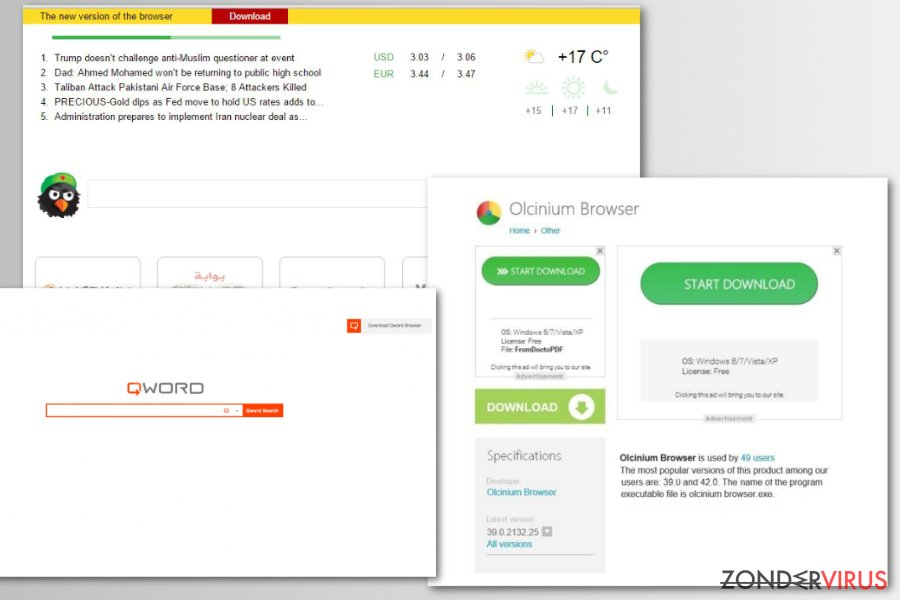 Chromium nep browsers