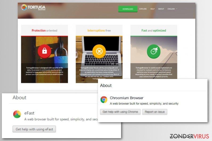 Chromium virus nep browsers