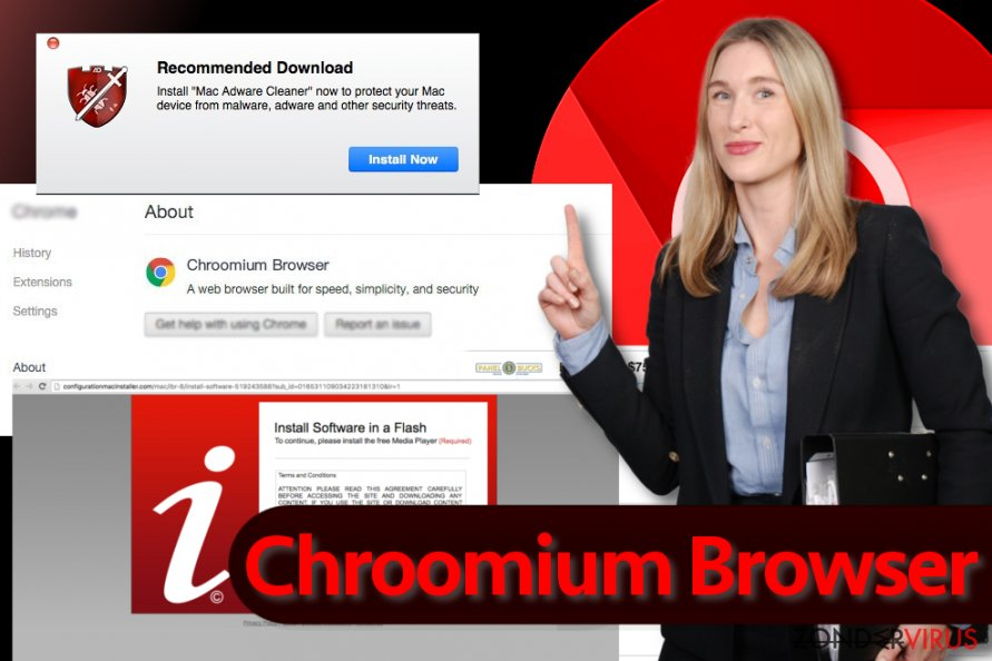 Het Chroomium Browser-virus