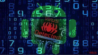 Afbeelding die de Android malware-com.google.provision illustreert