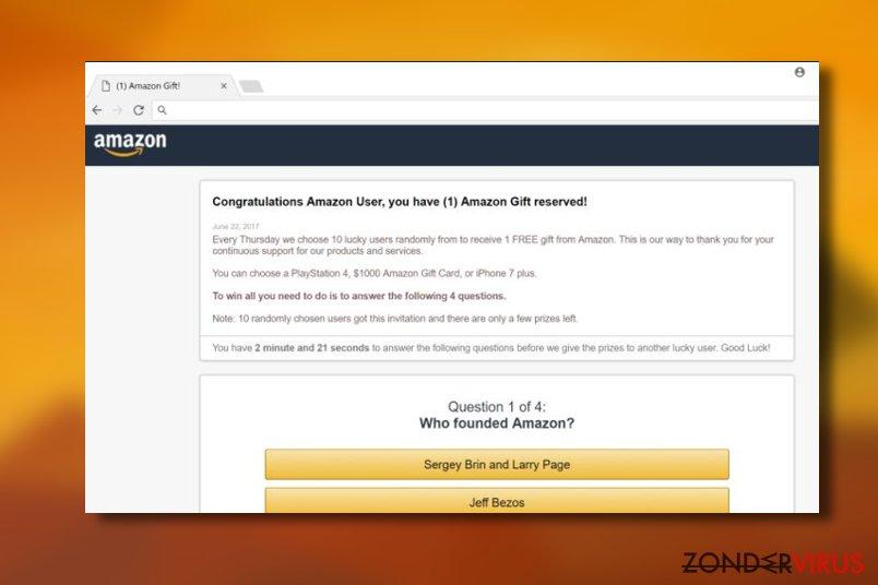 """Congratulations Amazon User"