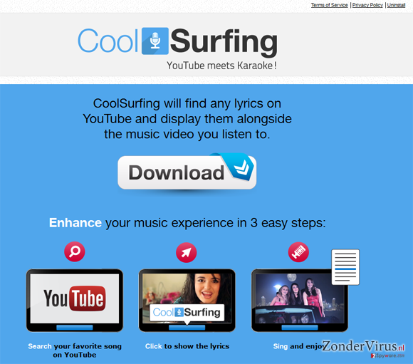 CoolSurfing snapshot