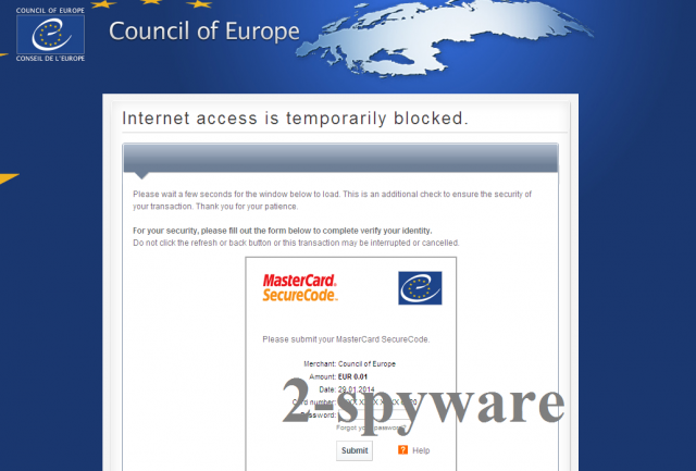 Council of Europe virus snapshot