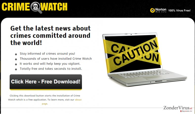 Advertenties door Crime Watch snapshot