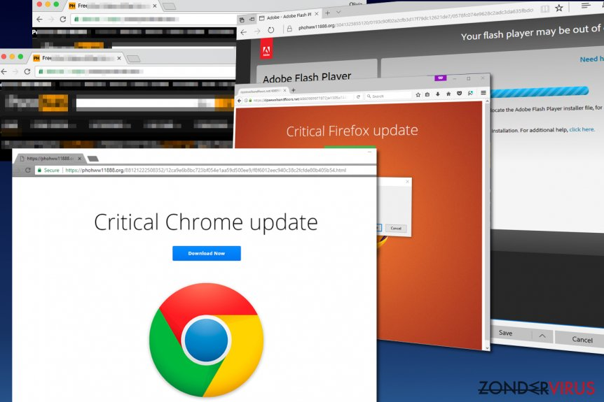 De Critical Chrome Update malware