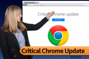 Het Critical Chrome Update virus