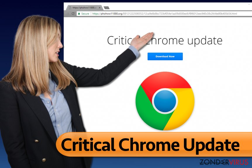Critical Chrome Update virus