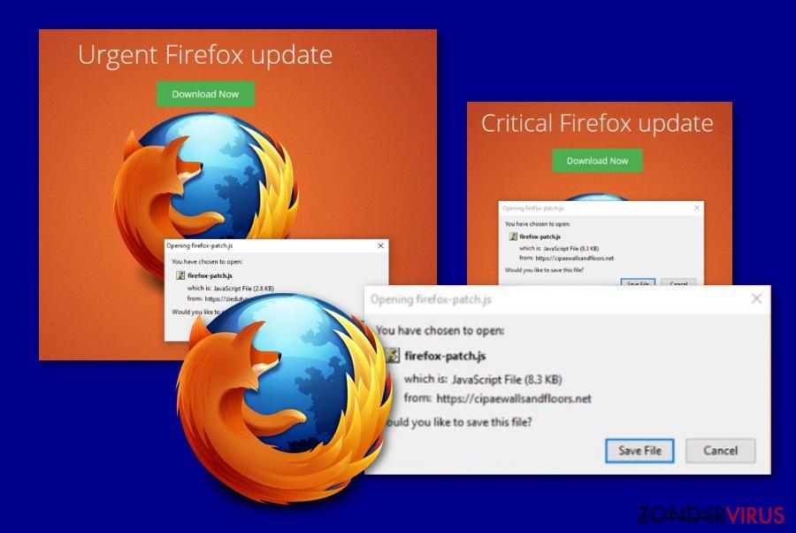 Critical Firefox Update bericht