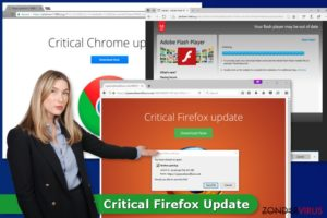 Het Critical Firefox Update virus