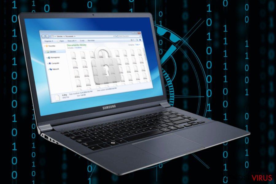 Afbeelding van de Decrypthelp@qq.com ransomware