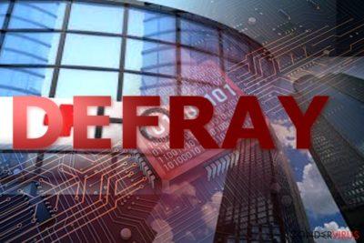 Voorbeeld van Defray